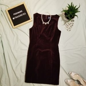 GAP Velvet Mini Dress NWT